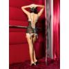 Kép 2/2 - ANAIS Chantal chemise + tanga XL EAN: 5908261612718