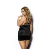 Kép 2/2 - Anais Desita fekete hálóing plus size XL+     3XL-4XL EAN: 5901350517635