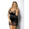 Kép 1/2 - Anais Enfia fekete hálóing plus size XXL+  5XL-6XL EAN: 5901350512852