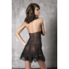 Kép 1/2 - ANAIS Seduce Me black chemise + thong S EAN: 5908261618031