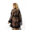 Kép 2/2 - ANAIS Maerin fekete köntös 3XL/4XL EAN: 5901350517543