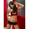 Kép 1/2 - ANAIS Trixie black red set XL EAN: 5908261612640