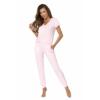 Kép 1/2 - Donna hálóruházat - Demi pink hosszú pizsama 44    A/W21-22