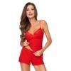 Kép 1/2 - Donna hálóruházat - Kelly 1/2 piros rövid pizsama 36   A/W21-22
