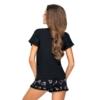 Kép 2/2 - Donna hálóruházat - Mika 1/2 fekete rövid pizsama 40   A/W21-22