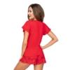 Kép 2/2 - Donna hálóruházat - Mika 1/2 piros rövid pizsama 42    A/W21-22