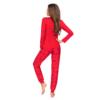 Kép 2/2 - Donna hálóruházat - Mika piros hosszú pizsama 36    A/W21-22