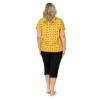 Kép 2/2 - Donna hálóruházat - Queen 3/4 Plus pizsama 46    A/W 21-22