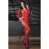 Kép 4/4 - LC17086 LivCo Corsetti Abra red bodystocking S/L EAN: 5907996385348