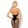 Kép 3/4 - LC17309 LivCo Corsetti Bituinam fekete bodystocking S/L EAN: 5902143681717