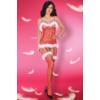 Kép 2/2 - LC17280 Livcorsett Catriona Christmas bodystocking S/L EAN: 5903050360450