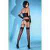 Kép 3/4 - LC90051 LivCo Corsetti Modesta black komplett S/M EAN: 5902431640556