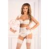 Kép 5/5 - LC90554 LivCo Corsetti Irissan komplett white S/M EAN: 5907621610296