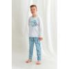 Kép 1/2 - Taro 2650 MARIO fiú hosszú pizsama 104   A/W21-22