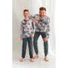 Kép 2/2 - Taro 2652 GREG fiú hosszú pizsama 104   A/W21-22