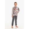 Kép 1/2 - Taro 2652 GREG fiú hosszú pizsama 104   A/W21-22