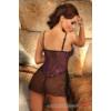Kép 2/2 - BN6176L/XL Beauty Night Oxalis teddy purple  L/XL EAN: 5907623202949