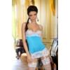 Kép 1/2 - BN6293 Beauty Night Shirley chemise light blue S/M EAN: 5907623205124