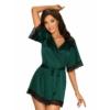 Kép 1/2 - OB9880  Sensuelia robe green XXL EAN: 5901688229880