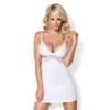 Kép 1/2 - OB3896  810-CHE-2 chemise & thong white  S/M EAN: 5901688213896