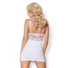 Kép 2/2 - OB3896  810-CHE-2 chemise & thong white  S/M EAN: 5901688213896