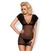 Kép 1/2 - OB5128  821-CHE-1 chemise & thong  S/M EAN: 5901688215128
