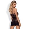 Kép 2/2 - OB8922 OBSESSIVE D605 dress XL/XXL black EAN: 5901688208922