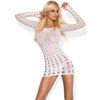 Kép 1/2 - OB2708 OBSESSIVE Rocker dress white S/M/L EAN: 5901688202708