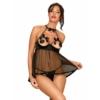 Kép 1/2 - OB9996 Delishya babydoll black L/XL EAN: 5901688229996