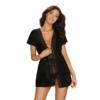 Kép 1/2 - OB0206 Diyosa peignoir black L/XL   EAN:  5901688230206