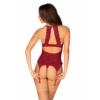 Kép 2/2 - OB9354 Ivetta corset & thong S/M EAN: 5901688229354