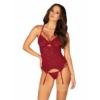 Kép 1/2 - OB9354 Ivetta corset & thong S/M EAN: 5901688229354