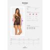 Kép 3/3 - OB1890  Astralya chemise & thong black S/M    EAN:5901688231890