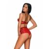 Kép 2/2 - OB0985  Leatheria 2-pcs set red  S/M EAN:5901688230985