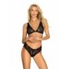 Kép 1/2 - OB0954 OBSESSIVE Sweetia 2-pcs set black  L/XL  EAN:5901688230954