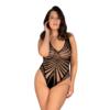 Kép 1/2 - OB3061 Obsessive B132 fekete  body XL/XXL EAN:5901688233078