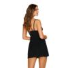 Kép 2/2 - OB2286 OBSESSIVE Cecilla chemise & thong black L/XL    EAN:5901688232286