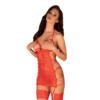 Kép 1/3 - OB2484 OBSESSIVE Rediosa chemise & thog L/XL   EAN:5901688232484