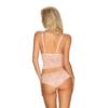 Kép 2/4 - OB1685  Delicanta top & panties pink S/M EAN: 5901688231685