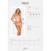 Kép 4/4 - OB1692  Delicanta top & panties pink L/XL EAN:5901688231692