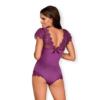 Kép 2/2 - OB7428 OBSESSIVE Moketta teddy L/XL purple EAN: 5901688227428