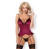 Kép 1/2 - OB4626 OBSESSIVE  845-COR-5 corset & thong L/XL EAN: 5901688214626