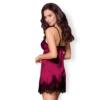 Kép 2/2 - OB8990 OBSESSIVE 861-CHE-5 chemise & thong L/XL pink EAN: 5901688218990