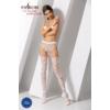 Kép 2/3 - Passion S003 garterstocking fehér S/M/L     EAN:5908305948414