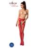 Kép 1/3 - Passion S005 garterstocking piros S/M/L     EAN:5908305948469