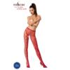 Kép 1/3 - Passion S008 garterstocking piros S/M/L     EAN:5908305948551