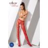 Kép 2/3 - Passion S008 garterstocking piros S/M/L     EAN:5908305948551