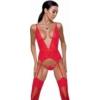 Kép 1/2 - Passion Mirajane corset red L/XL     EAN:5908305956594