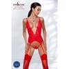 Kép 2/2 - Passion Mirajane corset red L/XL     EAN:5908305956594