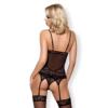 Kép 2/3 - OB7139 OBSESSIVE  837-COR-1 corset & thong L/XL EAN: 5901688217139